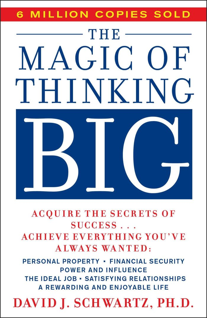 """Actionable Book Summary: """"The Magic of Thinking Big"""" by David J.Schwartz"""